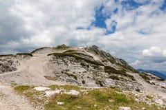 Paisagem das montanhas de Dachstein Fotografia de Stock Royalty Free