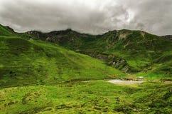 Paisagem das montanhas de Pyrenees Fotos de Stock Royalty Free