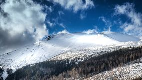 Paisagem das montanhas de Tatra imagens de stock