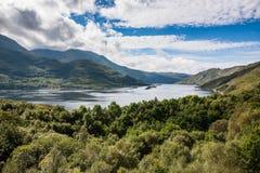 Paisagem das montanhas em Escócia imagem de stock