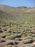 Paisagem das montanhas não contaminadas do atlas em Maroc Fotos de Stock