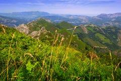 Paisagem das montanhas no verão Foto de Stock Royalty Free
