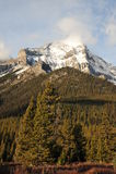 Paisagem das montanhas rochosas Imagens de Stock Royalty Free