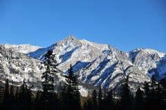 Paisagem das montanhas rochosas Foto de Stock Royalty Free