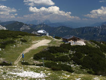 Paisagem de Áustria Tauplitz Fotografia de Stock