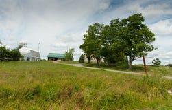 Paisagem de Amish fotografia de stock