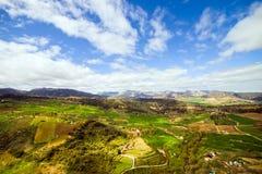 Paisagem de Andalucia imagens de stock