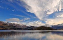 Paisagem de aspiração da montagem, Otago Nova Zelândia Imagens de Stock Royalty Free