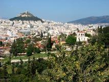 Paisagem de Atenas Imagem de Stock Royalty Free