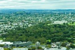 Paisagem de Auckland fotos de stock