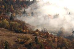Paisagem de Autumn Carpathian Fotos de Stock Royalty Free