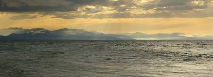 Paisagem de Baikal Fotos de Stock Royalty Free