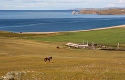 Paisagem de Baikal Imagem de Stock