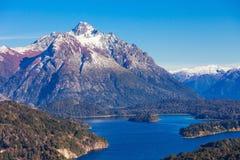 Paisagem de Bariloche em Argentina Fotos de Stock Royalty Free