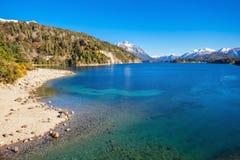 Paisagem de Bariloche em Argentina Imagens de Stock Royalty Free