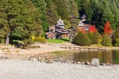 Paisagem de Bariloche em Argentina Foto de Stock Royalty Free
