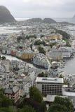 Paisagem de Bergen Imagem de Stock