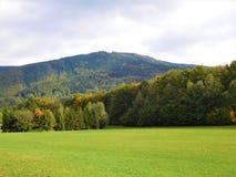 A paisagem de Beskydy Foto de Stock