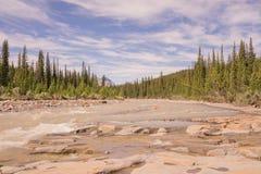 Paisagem de Bighorn River Imagem de Stock Royalty Free