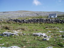 Paisagem de Burren Foto de Stock Royalty Free