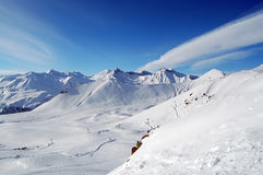 Paisagem de Cáucaso foto de stock