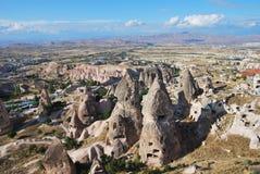 Paisagem de Cappadocia Fotografia de Stock Royalty Free