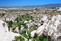 Paisagem de Cappadocia em Turquia Fotografia de Stock Royalty Free