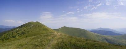 Paisagem de Carpathians Fotografia de Stock