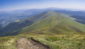 Paisagem de Carpathians Imagem de Stock Royalty Free