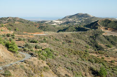 paisagem de Chipre Foto de Stock