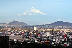 Paisagem de Cidade do México Imagens de Stock Royalty Free