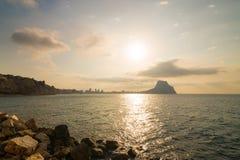 Paisagem de Costa Blanca Imagem de Stock