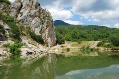 Paisagem de Crimeia Foto de Stock