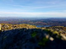 Paisagem de Cumbrian Foto de Stock