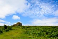 Paisagem de Dartmoor, Inglaterra - 3 Fotos de Stock