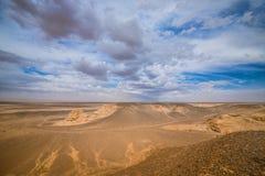 Paisagem de dunas de areia ensolarados Foto de Stock