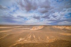Paisagem de dunas de areia ensolarados Imagens de Stock Royalty Free