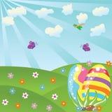 Paisagem de Easter Imagens de Stock Royalty Free