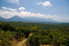 Paisagem de El Salvador Fotografia de Stock