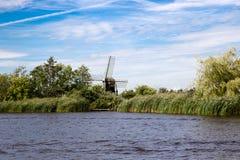 Paisagem de Friesland Fotos de Stock