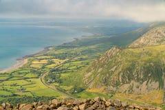 Paisagem de Galês em Llyn Peninsula imagens de stock