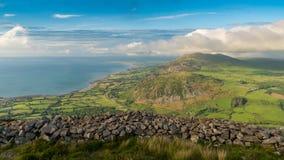 Paisagem de Galês em Llyn Peninsula fotos de stock