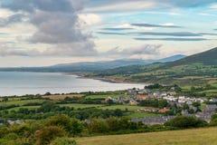 Paisagem de Galês em Llyn Peninsula imagem de stock royalty free