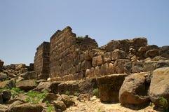 Paisagem de Galilee - crusai velho Fotos de Stock Royalty Free