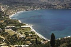 Paisagem de Grécia Imagem de Stock Royalty Free