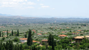 Paisagem de Grécia Fotografia de Stock Royalty Free