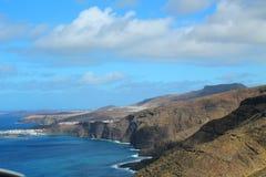 Paisagem de Gran Canaria Foto de Stock Royalty Free