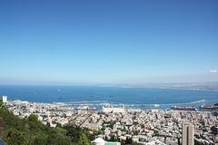 Paisagem de Haifa Imagens de Stock Royalty Free