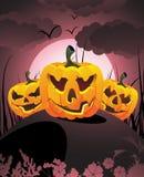 Paisagem de Halloween Imagem de Stock Royalty Free