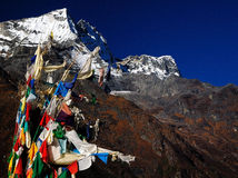 Paisagem de Himalaya Foto de Stock